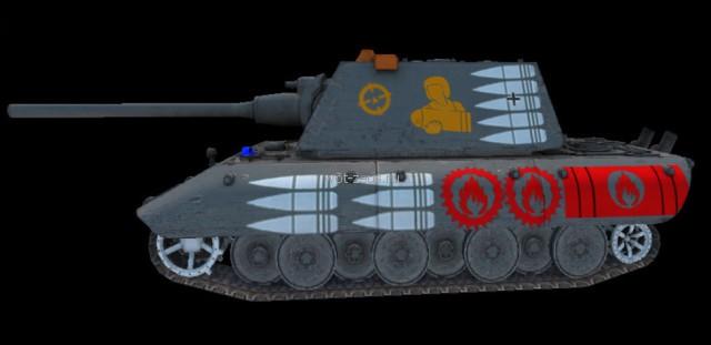 Зоны пробития танков World of Tanks от Estet